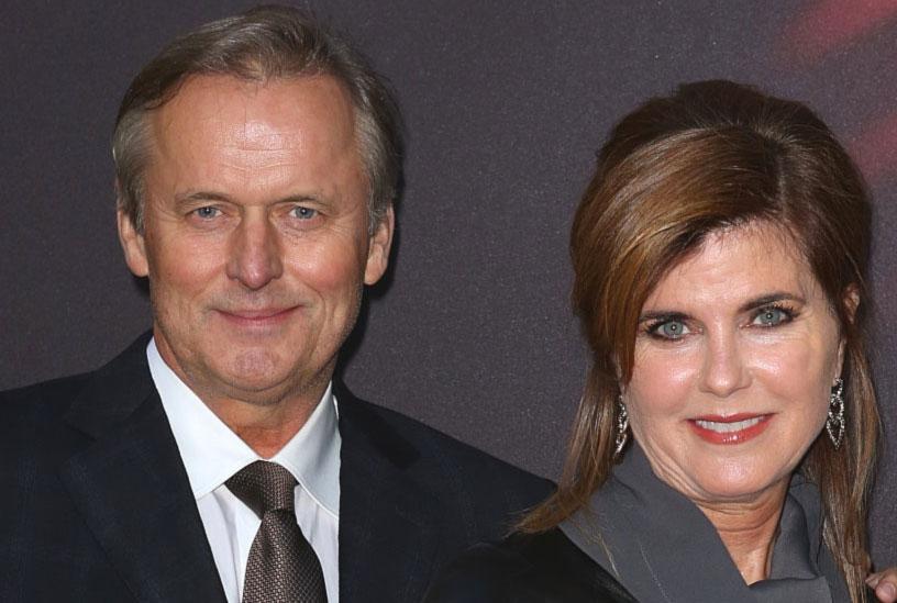 John Grisham con la moglie Renee Jones