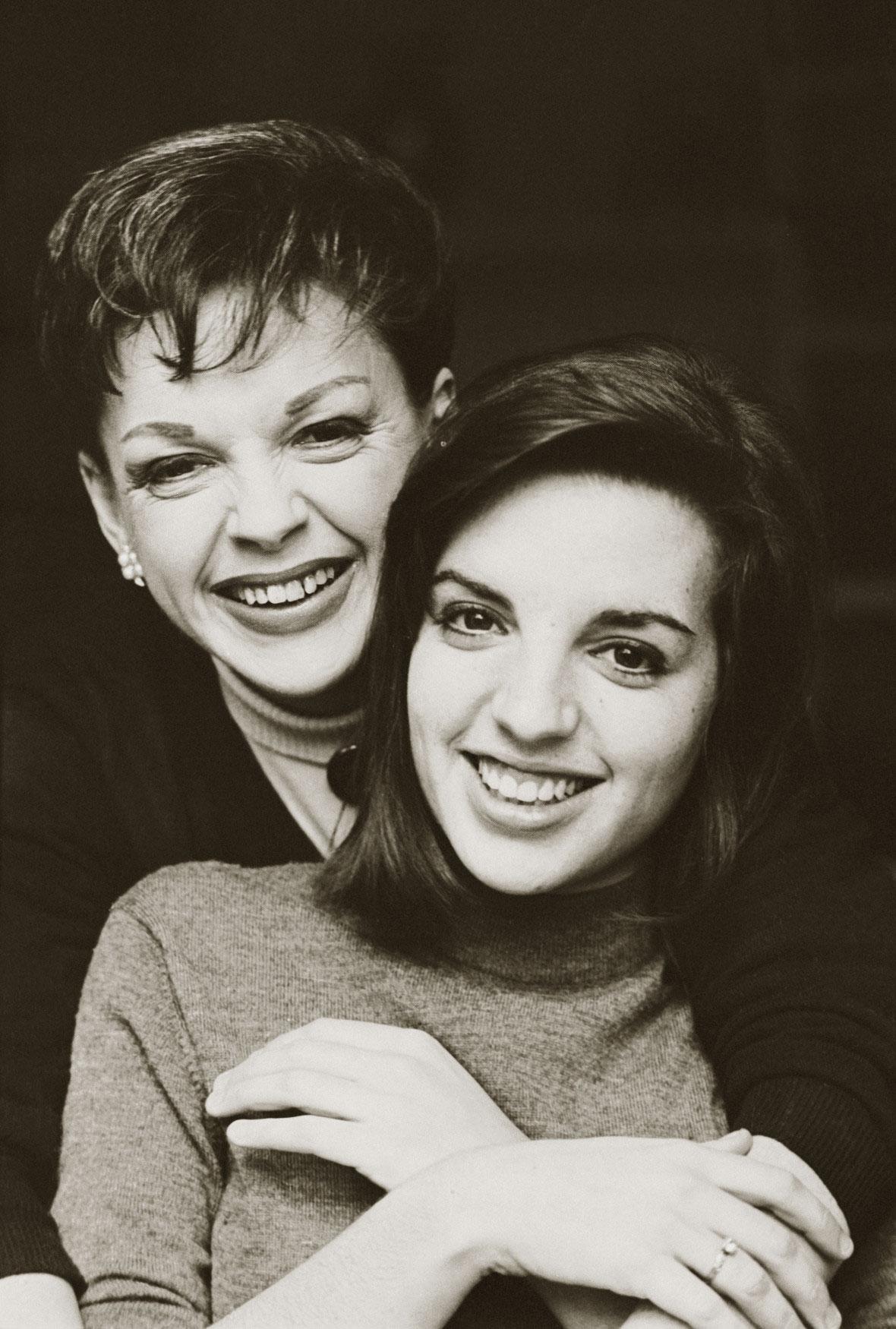 Judy Garland con la figlia Liza Minnelli