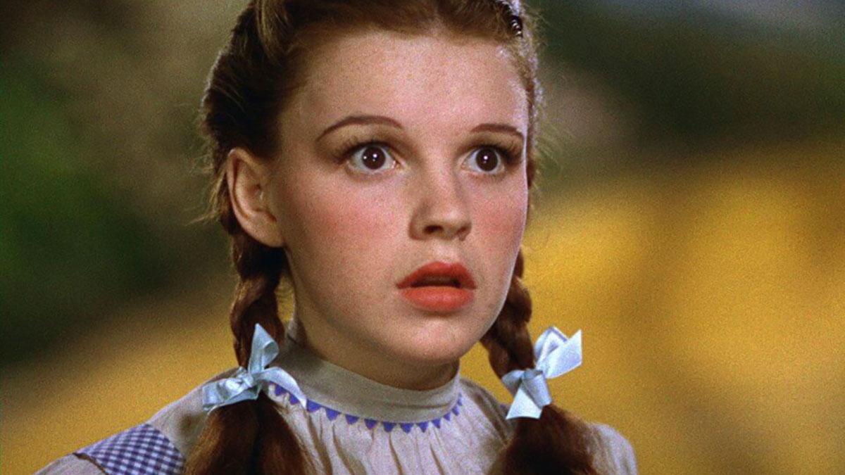 Judy Garland nel Mago di Oz