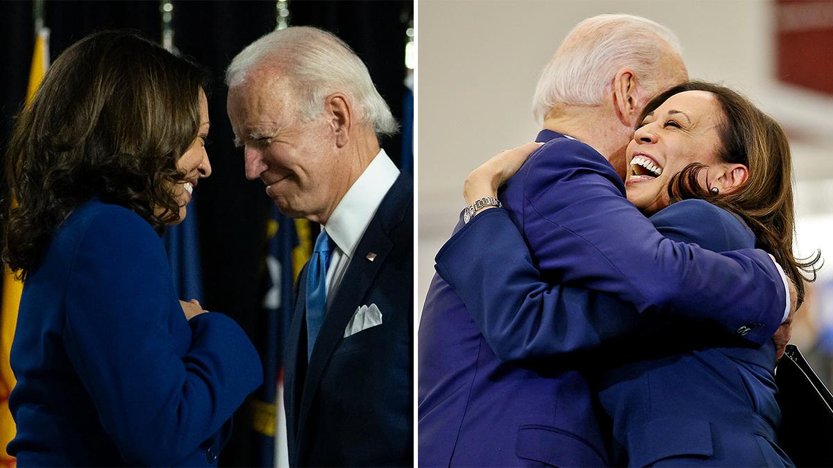 Kamala Harris con Joe Biden