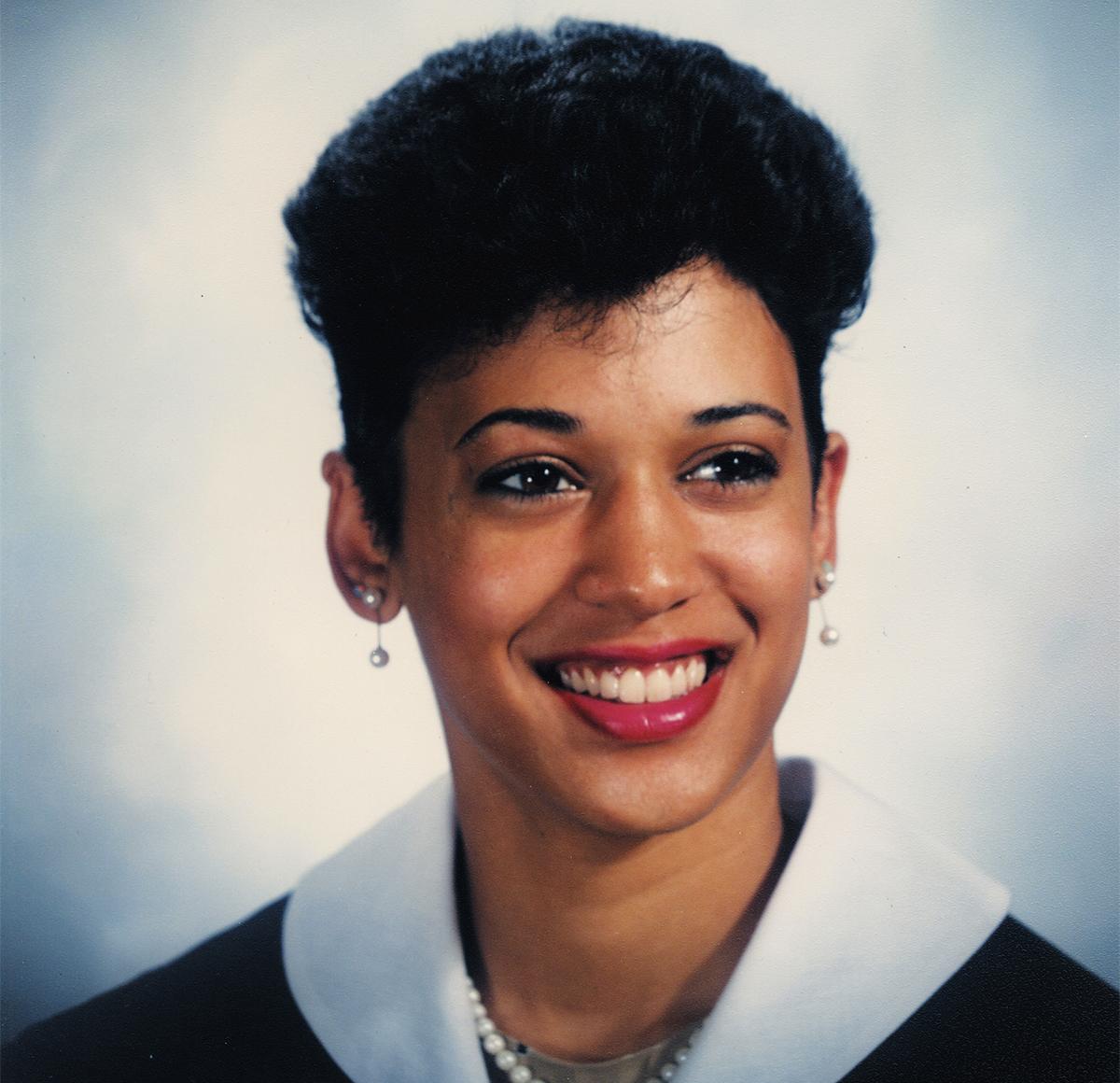 Kamala Harris giovane