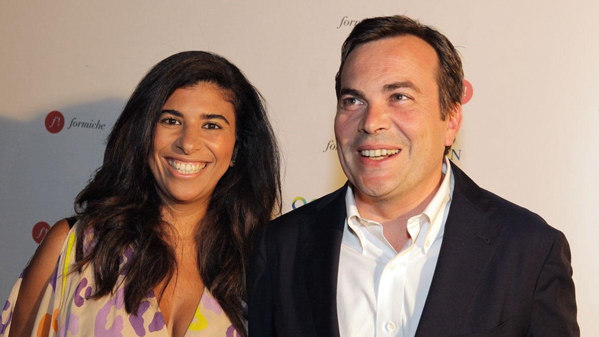 Karima Moual con il marito Vincenzo Amendola