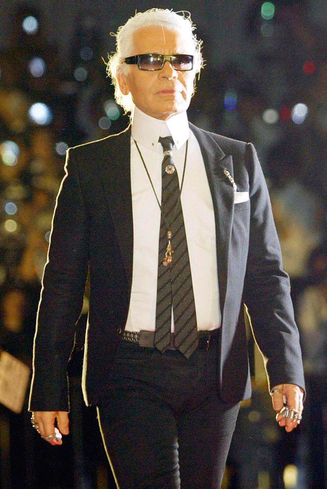 Karl Lagerfeld • Il lusso è avere addosso pezzi unici e ...