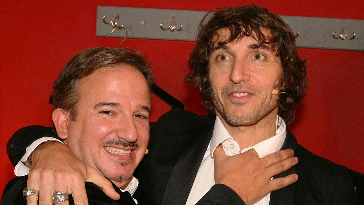 Luca Telese con Giuseppe Cruciani
