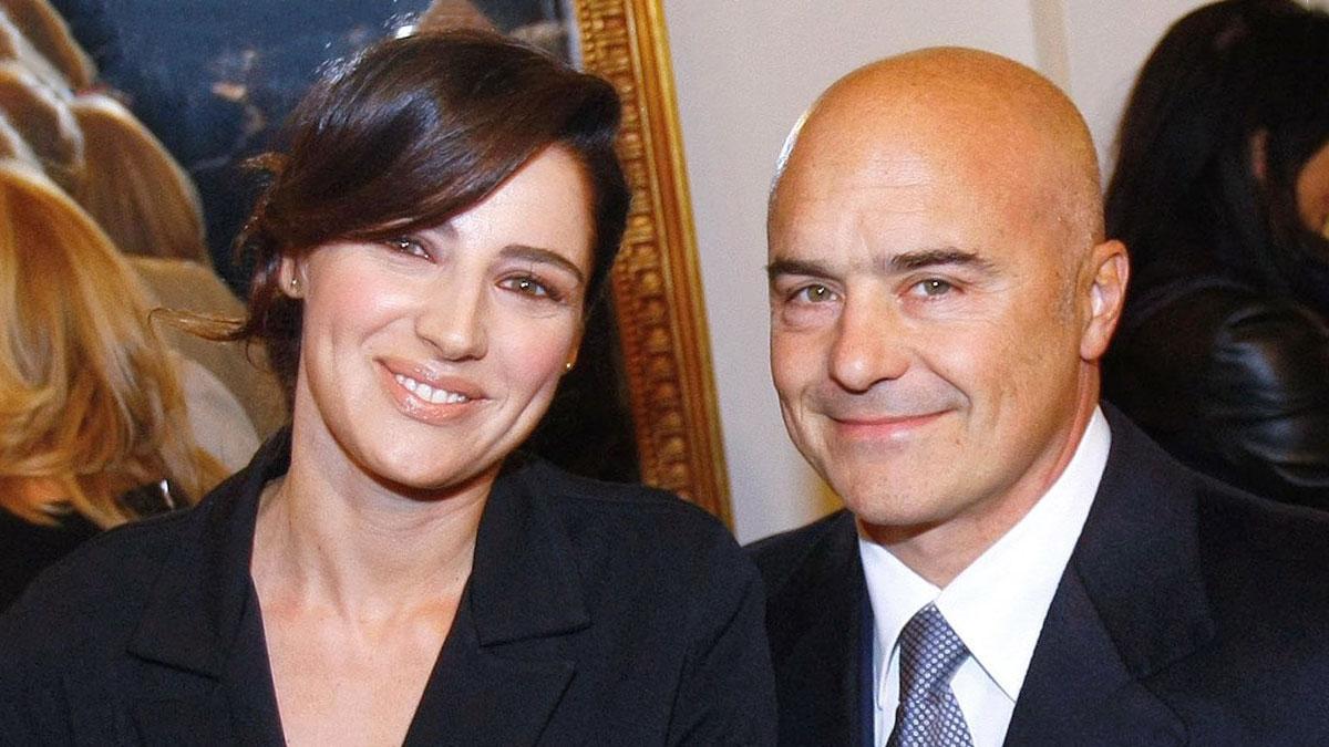 Luisa Ranieri con il marito Luca Zingaretti