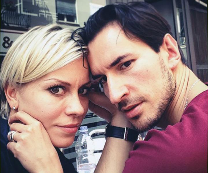 Maria Ermachkova con Mirco Risi