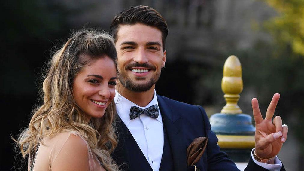 Mariano Di Vaio con la moglie Eleonora Brunacci