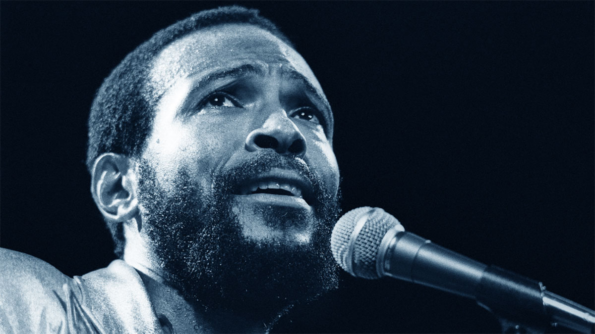 Marvin Gaye in concerto