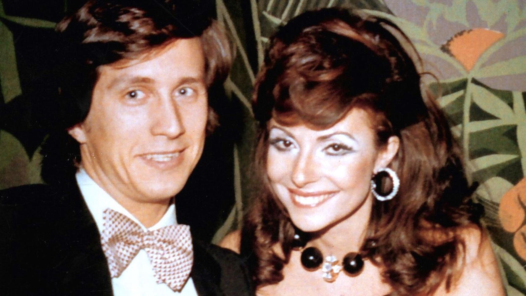 Maurizio Gucci con Patrizia Reggiani ad una festa