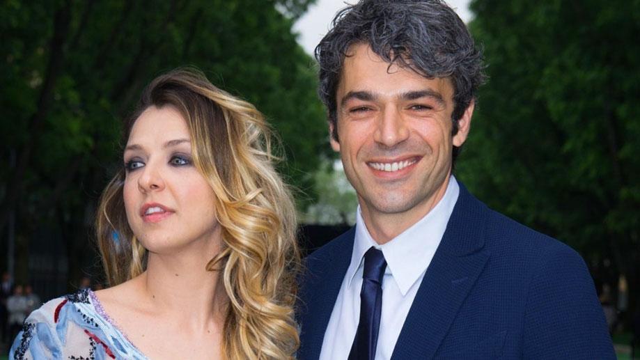 Myriam Catania con Luca Argentero