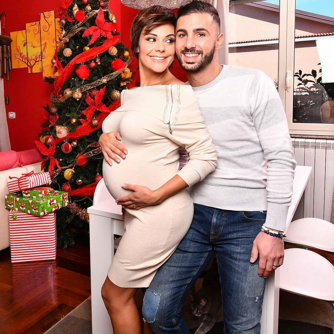 Ornella Boccafoschi con il marito Francesco Samperi