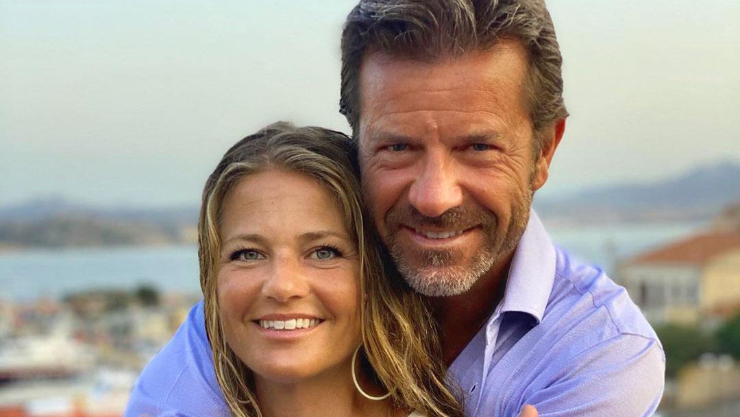 Paolo Conticini con la moglie Giada Parra