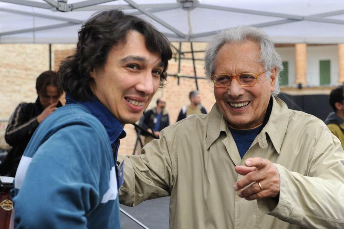 Paolo Jannacci con il padre Enzo