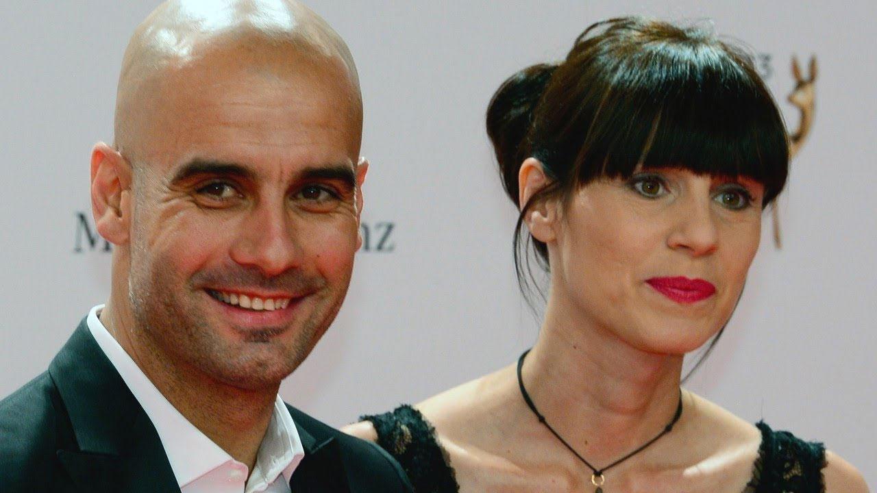 Pep Guardiola con la moglie Cristina Serra