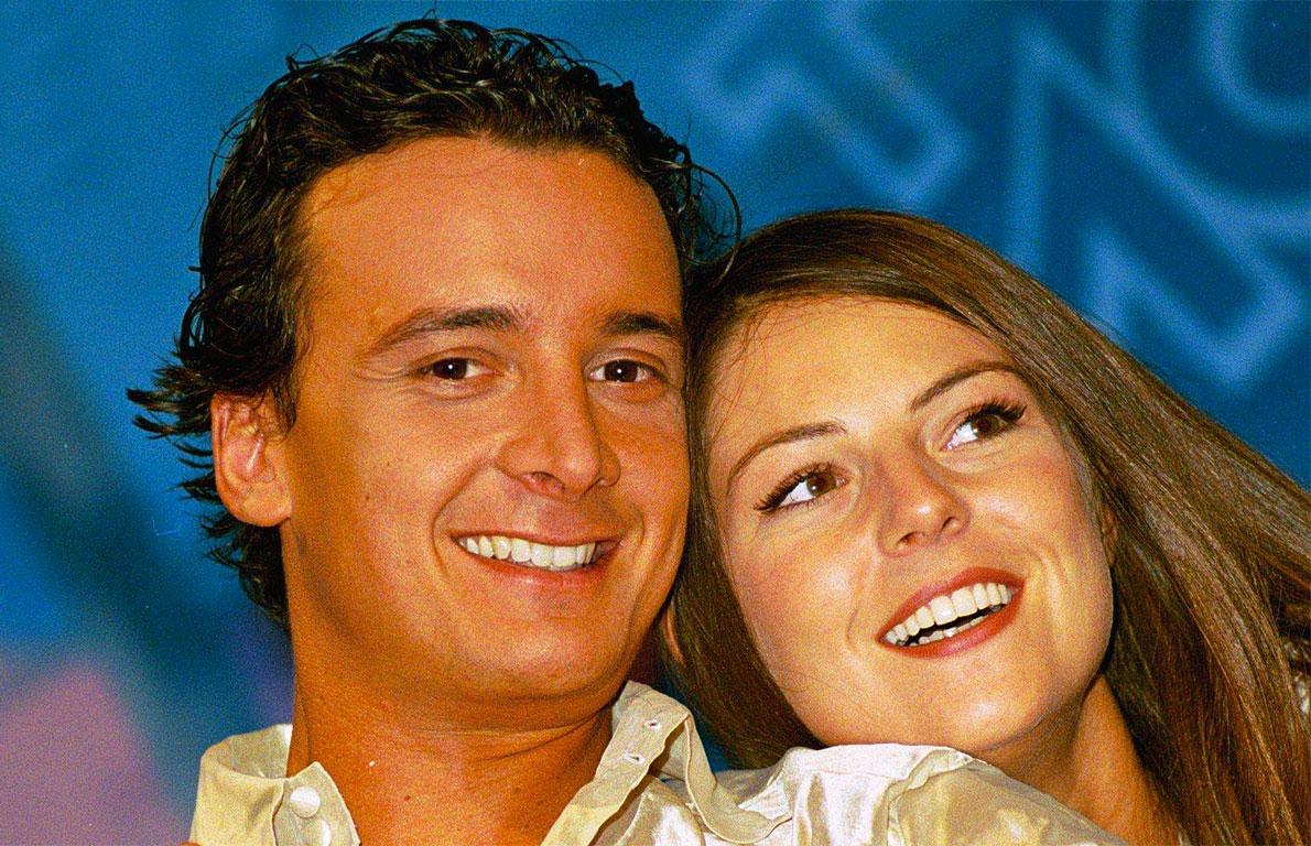 Rocco Casalino con Marina La Rosa
