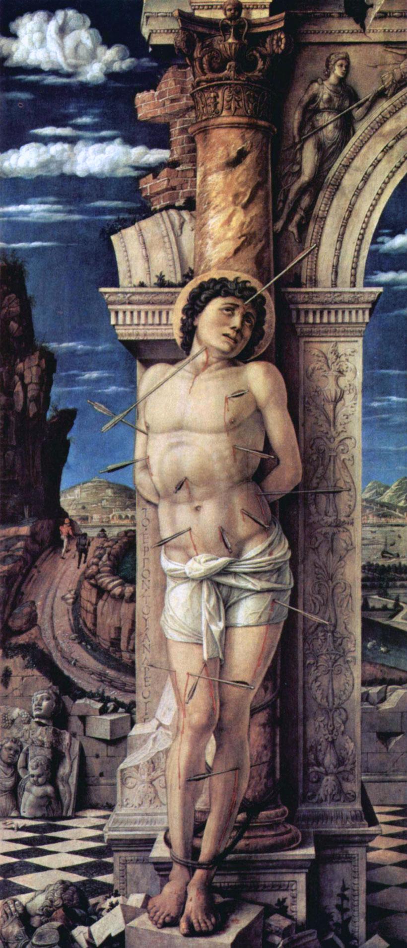 San Sebastiano, Mantegna (Vienna)