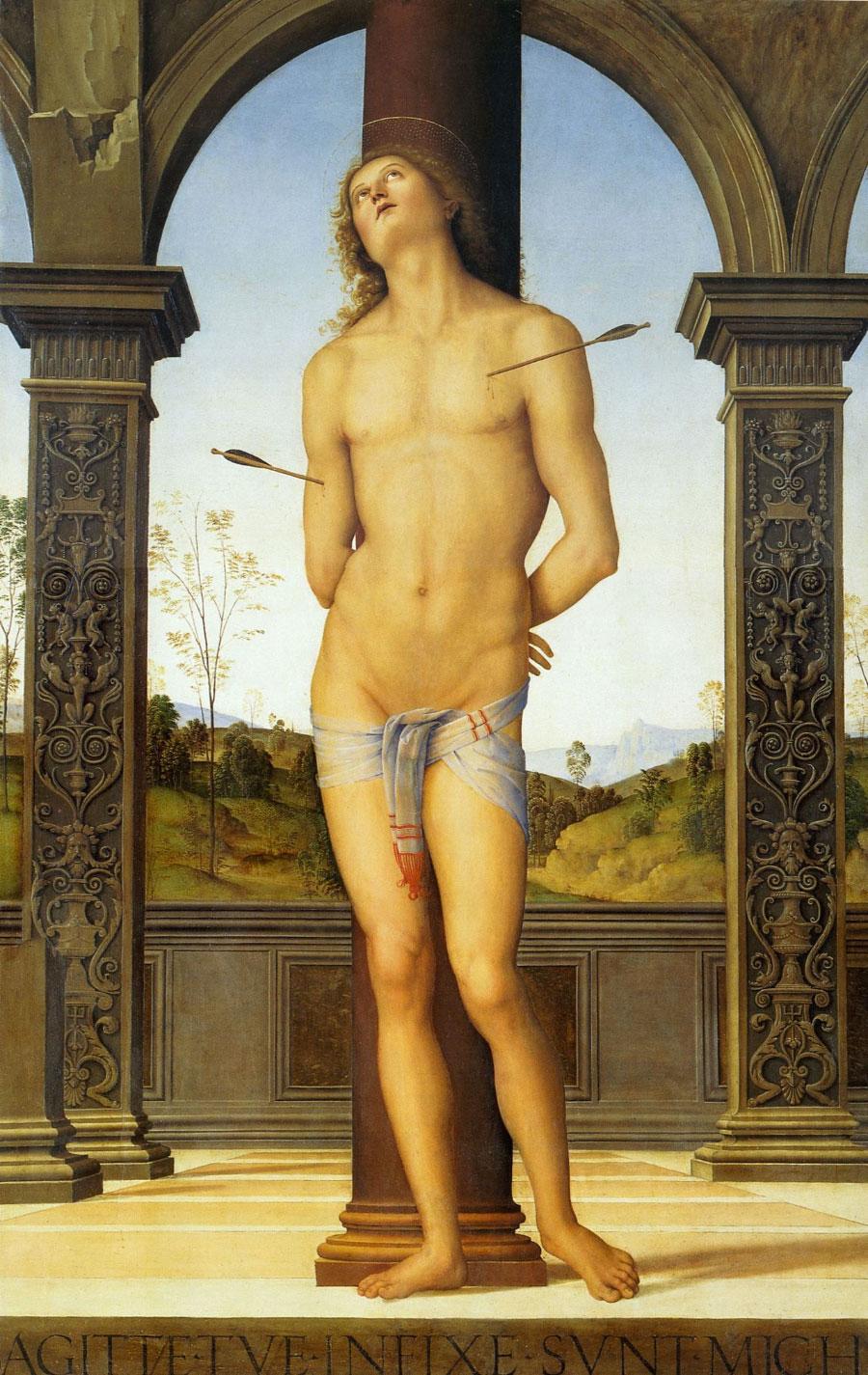 San Sebastiano, Perugino