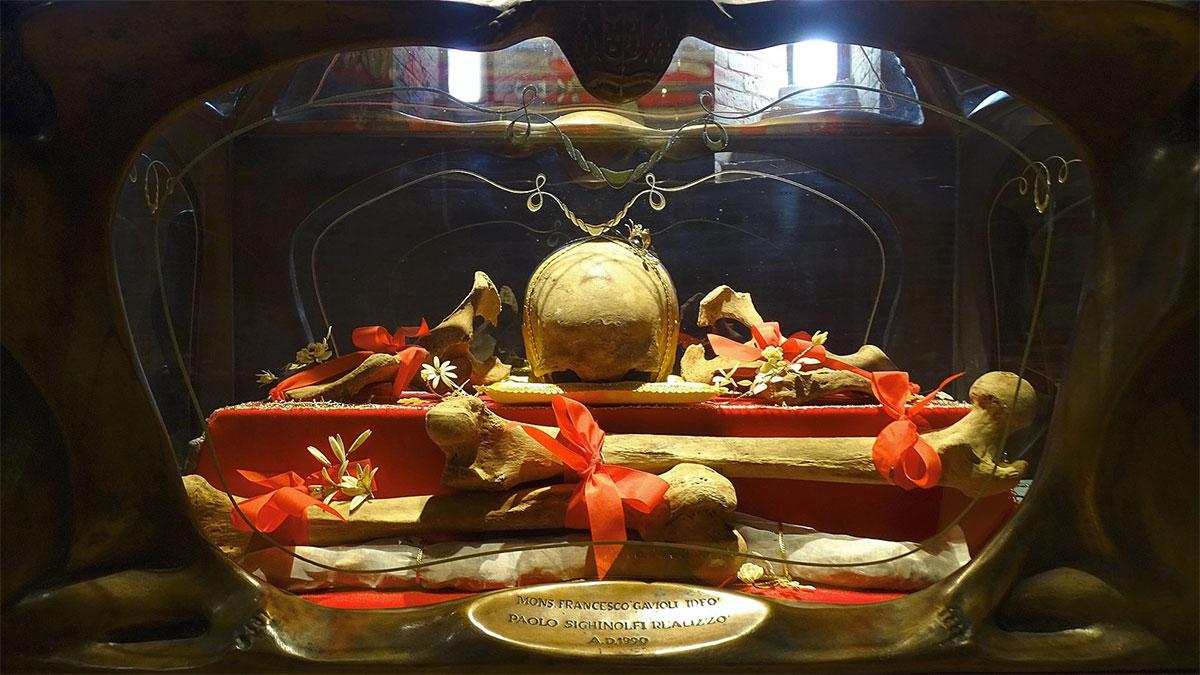 San Silvestro reliquie