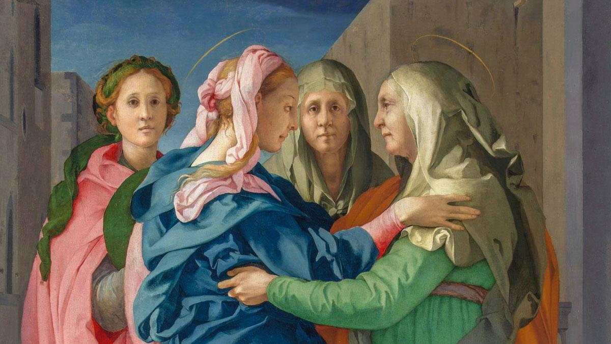Santa Elisabetta nella Visitazione di Pontormo