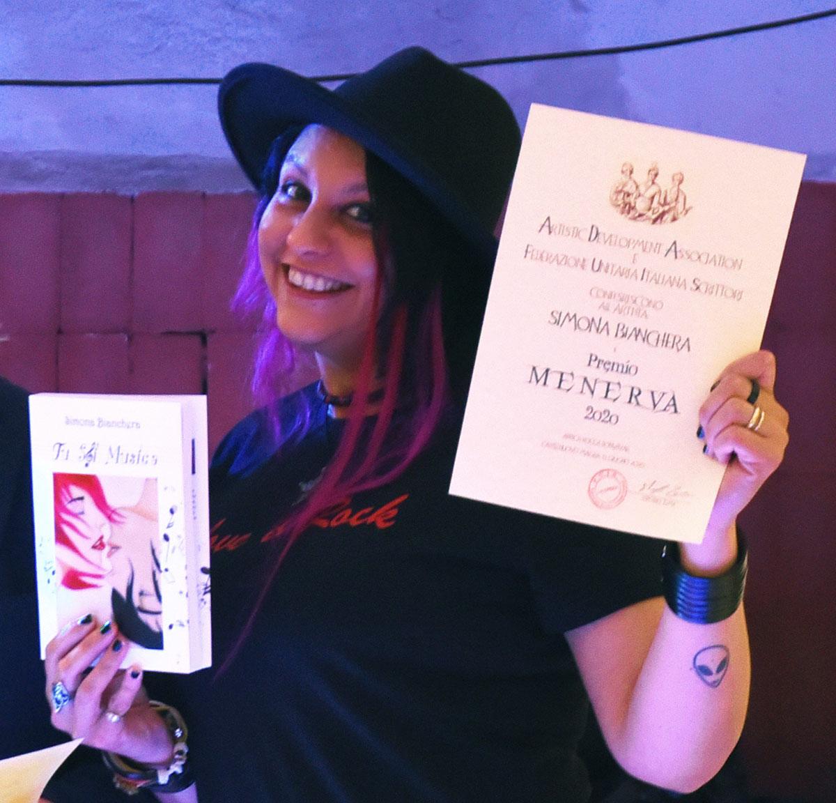 Simona Bianchera, premio Menerva