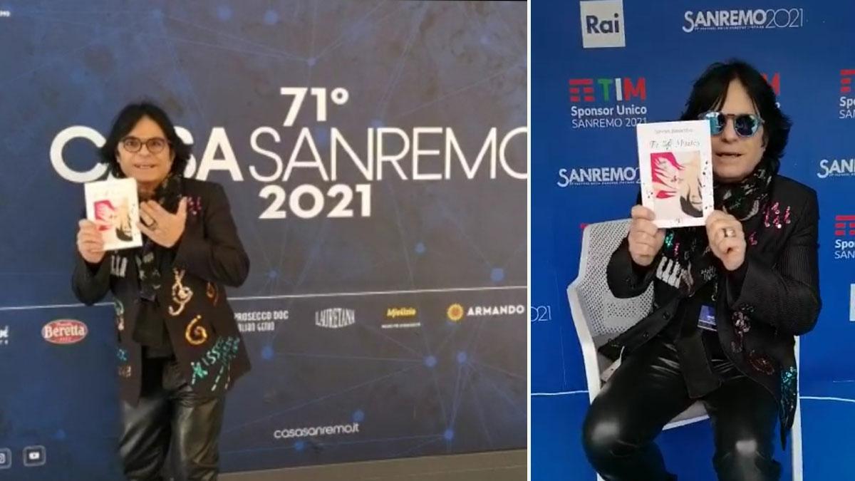 Il libro di Simona Bianchera a Sanremo 2021
