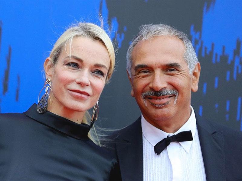 Stefania Rocca con il marito Carlo Capasa