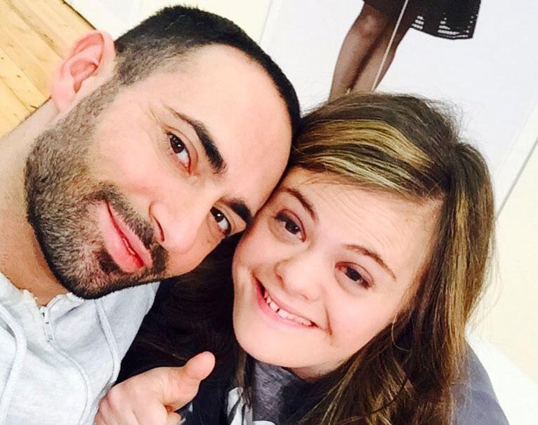 Stefano Oradei con Nicole Orlando