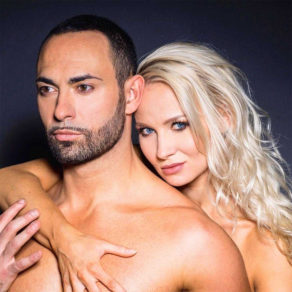 Stefano Oradei con Veera Kinnunen