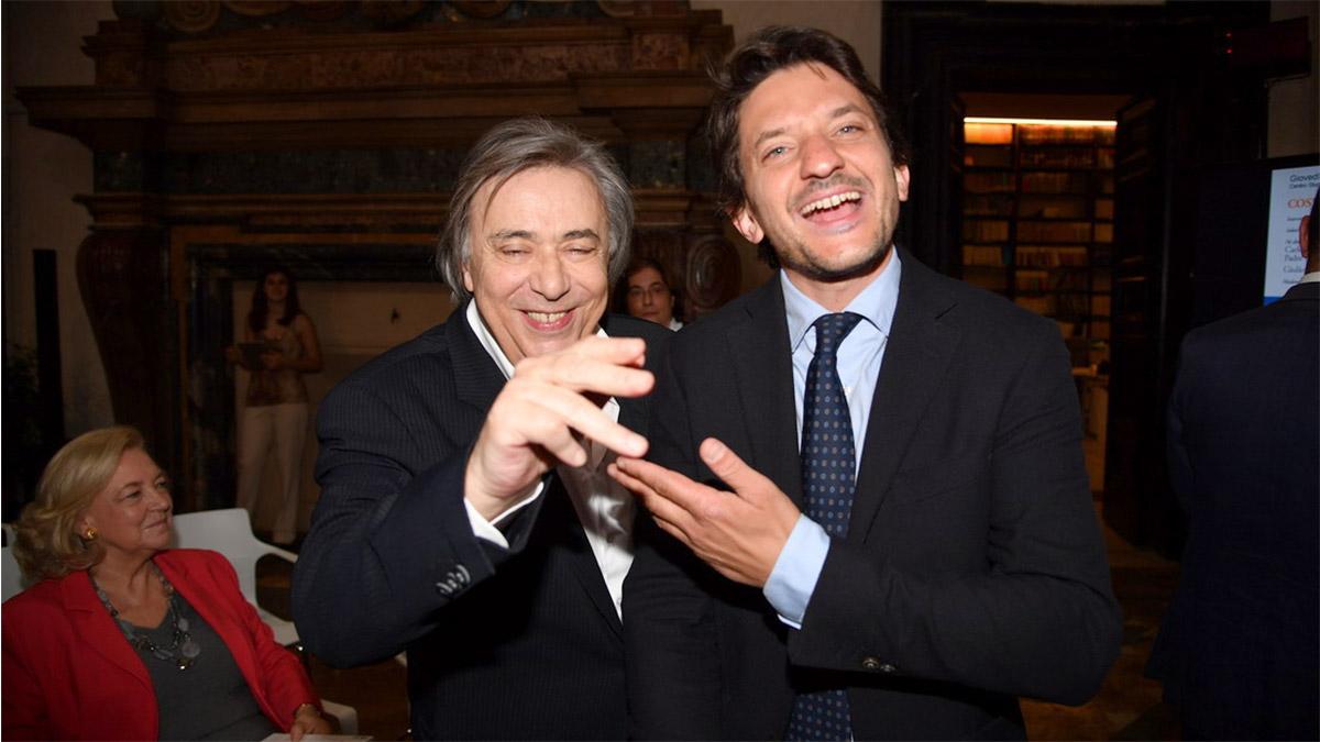 Tommaso Labate con Carlo Freccero