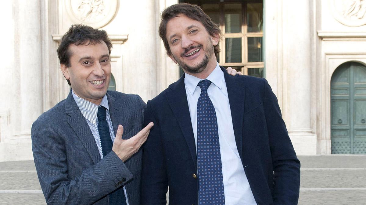 Tommaso Labate con David Parenzo
