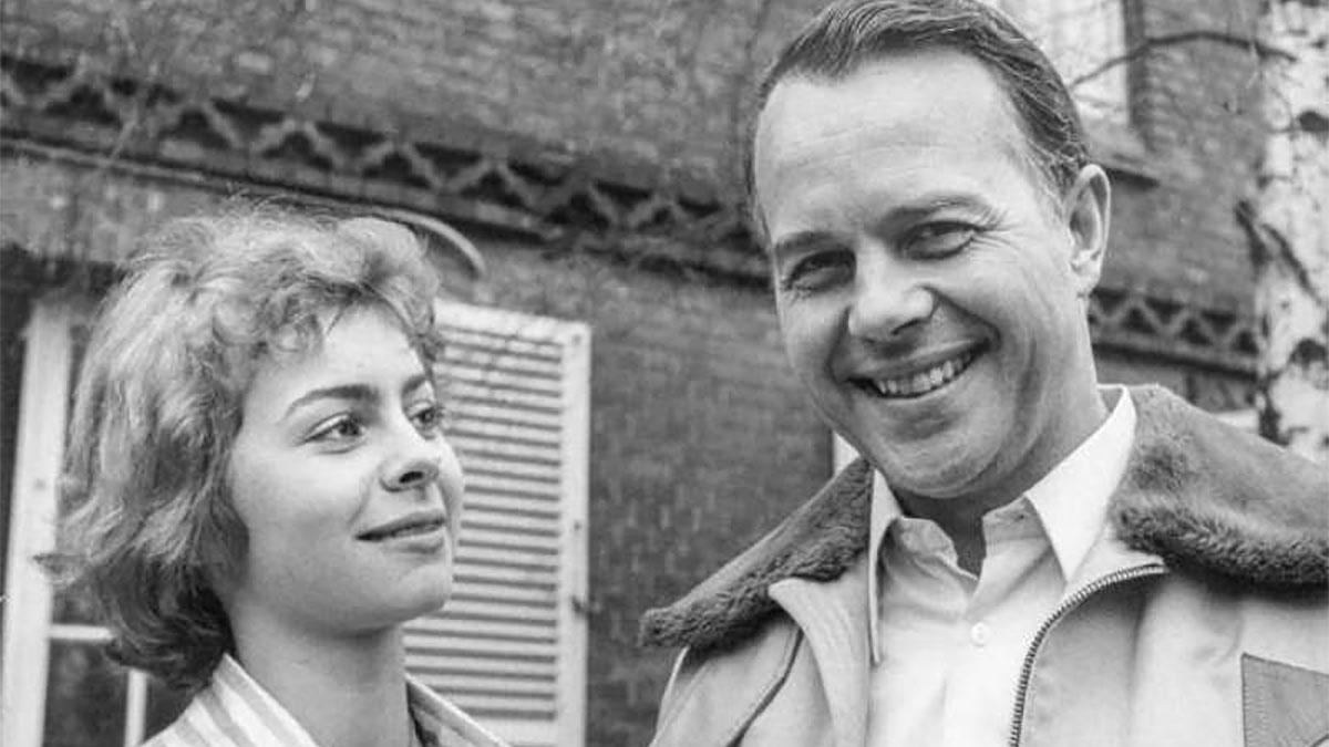 Ursula von der Leyen giovane con il padre
