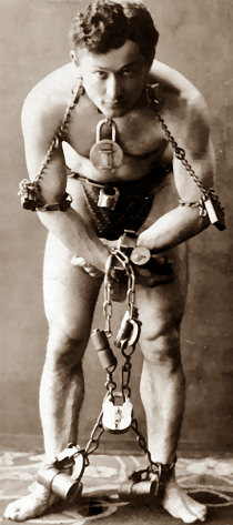 Foto media di Harry Houdini