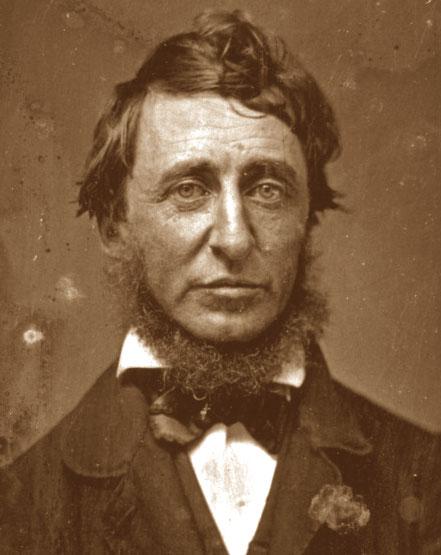Foto media di Henry David Thoreau