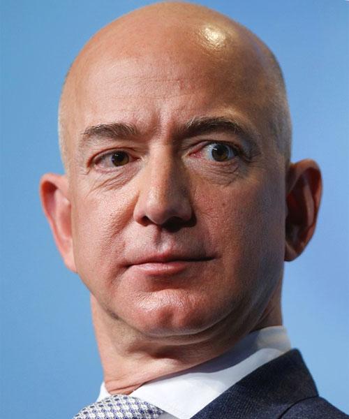 Foto media di Jeff Bezos