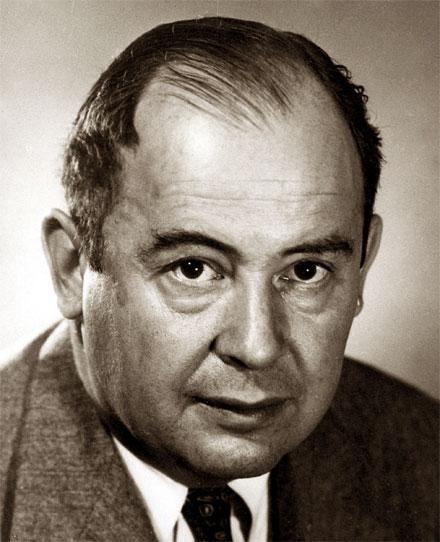 Джон фон Нейман, как Винер, Эйнштейн, Лоренц, Бор, Шредингер, Уилер и многие другие, безусловно, является одним из...