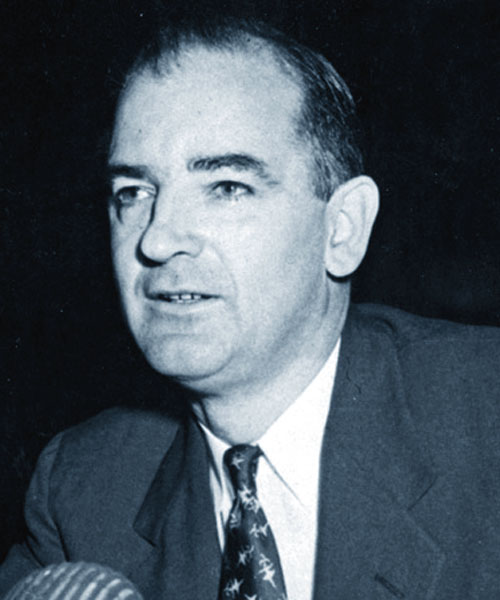a biography of joseph mccarthy an american politician Joseph mccarthy was born on november 14, 1908, on a farm in grand chute, wisconsin the family was part of the irish settlement, a small group surrounded by farmers mainly of german and dutch descent.