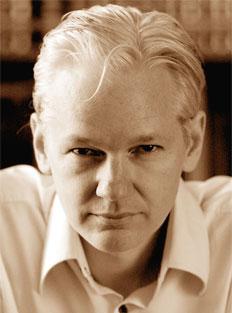 Foto media di Julian Assange