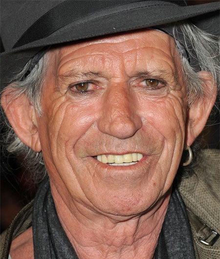Foto media di Keith Richards