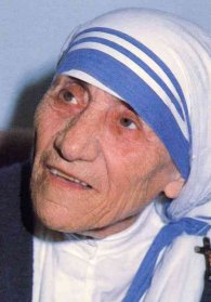 Foto media di Madre Teresa di Calcutta
