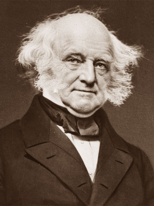 Una foto di Martin Van Buren