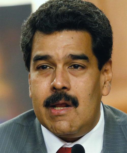Foto media di Nicolás Maduro