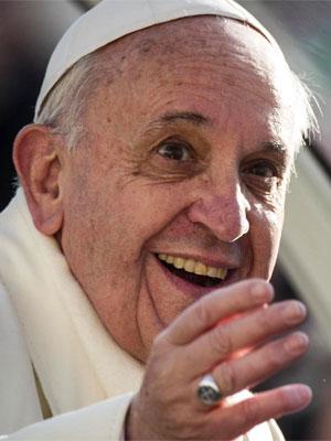 Foto media di Papa Francesco