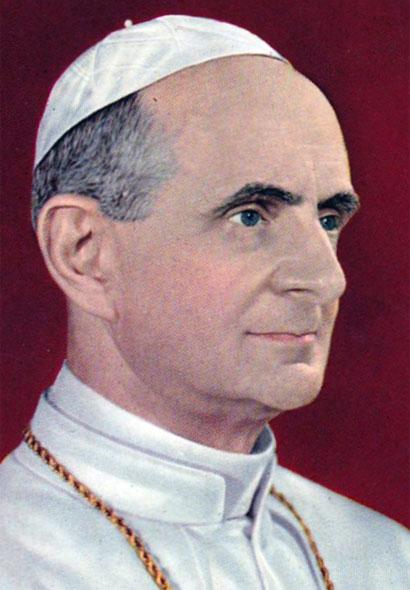 Giovanni Battista Montini, Papa Paolo VI