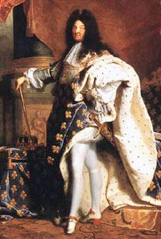 Foto media di Re Luigi XIV
