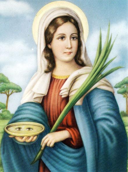 Biografia e vita di Santa Lucia