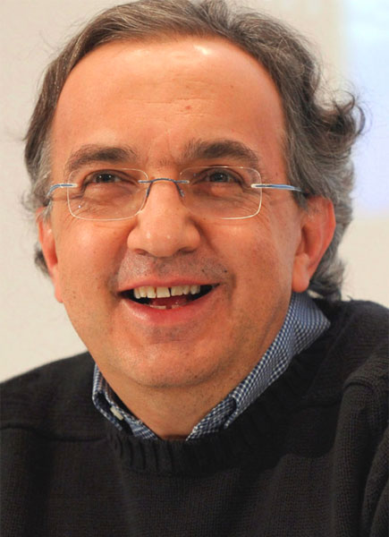 Foto media di Sergio Marchionne