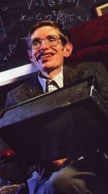 Foto media di Stephen Hawking