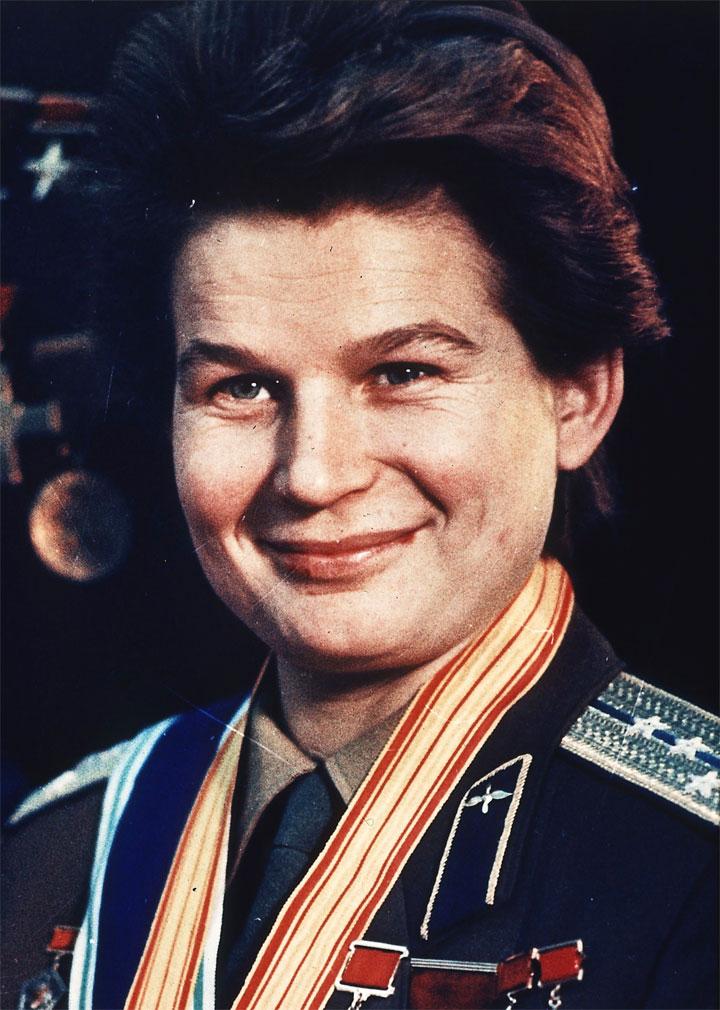 Foto media di Valentina Tereshkova