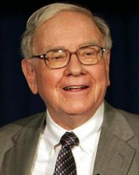Foto media di Warren Buffett