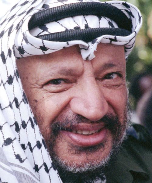 Foto media di Yasser Arafat